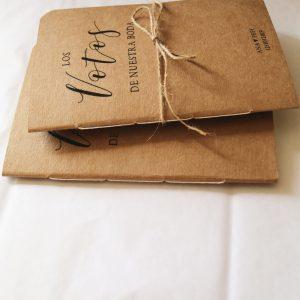 Vow Book – Votos de nuestra boda
